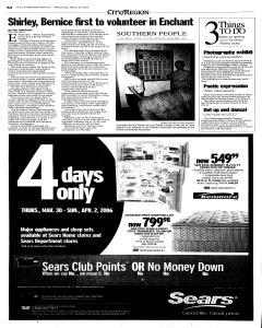 Lethbridge Herald, March 29, 2006, Page 4