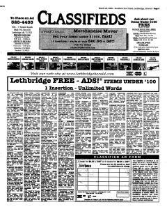 Lethbridge Herald, March 29, 2006, Page 37