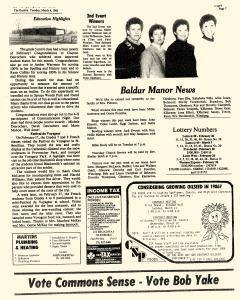 Baldur Gazette, March 04, 1986, Page 4