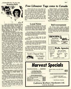 Baldur Gazette, September 02, 1986, Page 7