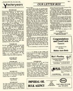 Baldur Gazette, September 09, 1986, Page 3