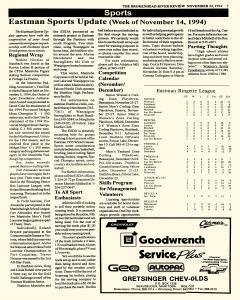 Beausejour Brokenhead River Review, November 24, 1994, Page 7