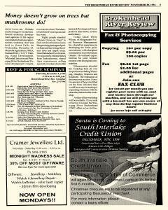 Beausejour Brokenhead River Review, November 30, 1994, Page 5