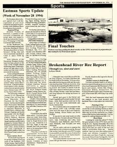 Beausejour Brokenhead River Review, November 30, 1994, Page 7
