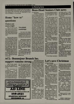Beausejour Brokenhead River Review, December 07, 1994, Page 8