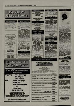 Beausejour Brokenhead River Review, December 07, 1994, Page 10