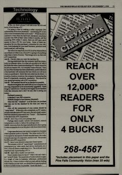 Beausejour Brokenhead River Review, December 07, 1994, Page 11