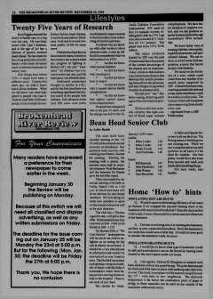 Beausejour Brokenhead River Review, January 19, 1995, Page 12