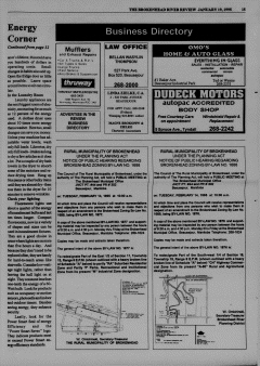 Beausejour Brokenhead River Review, January 19, 1995, Page 15