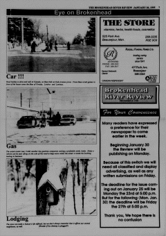 Beausejour Brokenhead River Review, January 26, 1995, Page 7