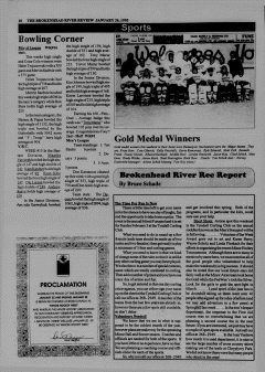 Beausejour Brokenhead River Review, January 26, 1995, Page 10