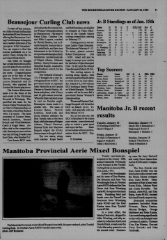 Beausejour Brokenhead River Review, January 26, 1995, Page 11