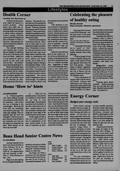 Beausejour Brokenhead River Review, January 26, 1995, Page 13
