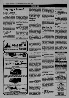 Beausejour Brokenhead River Review, January 26, 1995, Page 16