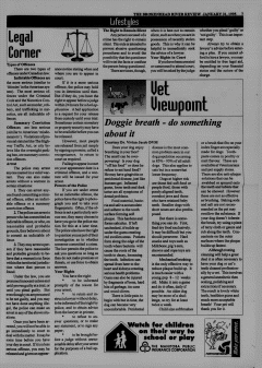 Beausejour Brokenhead River Review, January 31, 1995, Page 7