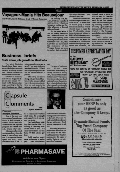 Beausejour Brokenhead River Review, February 28, 1995, Page 3