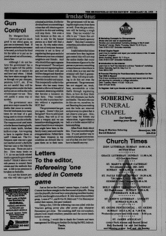 Beausejour Brokenhead River Review, February 28, 1995, Page 5