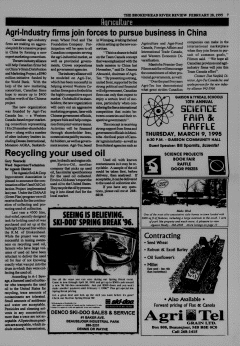 Beausejour Brokenhead River Review, February 28, 1995, Page 7