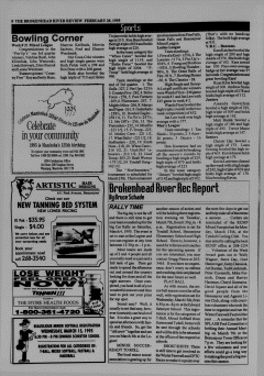 Beausejour Brokenhead River Review, February 28, 1995, Page 8