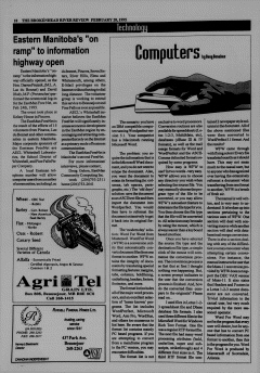 Beausejour Brokenhead River Review, February 28, 1995, Page 10