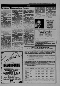 Beausejour Brokenhead River Review, February 28, 1995, Page 11