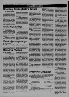 Beausejour Brokenhead River Review, March 07, 1995, Page 6