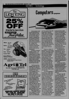 Beausejour Brokenhead River Review, March 07, 1995, Page 16