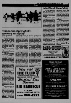 Beausejour Brokenhead River Review, May 09, 1995, Page 3