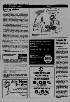 Beausejour Brokenhead River Review, May 09, 1995, Page 4