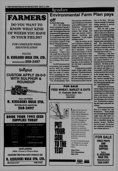 Beausejour Brokenhead River Review, May 09, 1995, Page 8