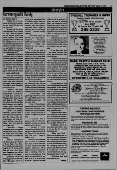 Beausejour Brokenhead River Review, May 09, 1995, Page 11