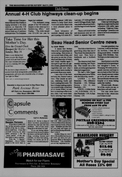 Beausejour Brokenhead River Review, May 09, 1995, Page 12