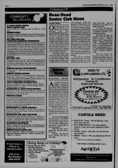 Beausejour Brokenhead River Review, June 11, 1996, Page 4
