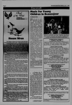 Beausejour Brokenhead River Review, June 11, 1996, Page 6