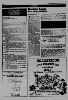 Beausejour Brokenhead River Review, June 11, 1996, Page 10