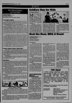 Beausejour Brokenhead River Review, June 11, 1996, Page 11