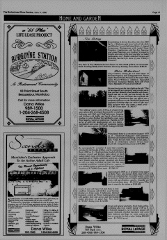Beausejour Brokenhead River Review, June 11, 1996, Page 13