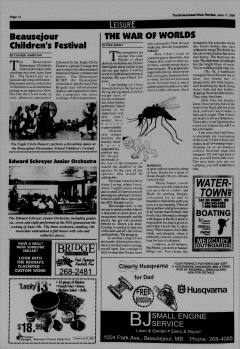 Beausejour Brokenhead River Review, June 11, 1996, Page 14