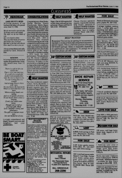 Beausejour Brokenhead River Review, June 11, 1996, Page 16