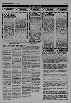 Beausejour Brokenhead River Review, June 11, 1996, Page 17