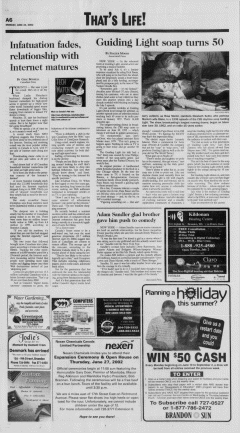 Brandon Sun newspaper archives