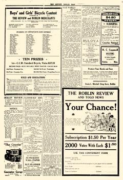 Roblin Review and Togo News, April 15, 1937, Page 4