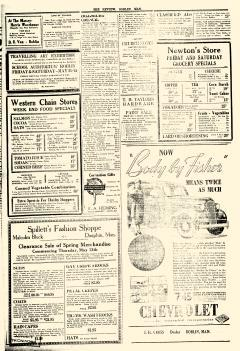 Roblin Review And Togo News, May 13, 1937, Page 1