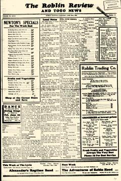 Roblin Review and Togo News, June 22, 1939, Page 4