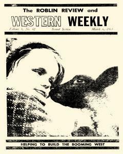 Roblin Review And Western Weekly, March 06, 1963, Page 1