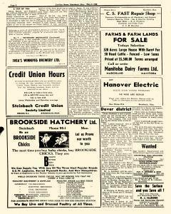 Steinbach Carillon News, May 10, 1946, Page 6