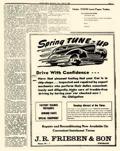 Steinbach Carillon News, May 10, 1946, Page 5