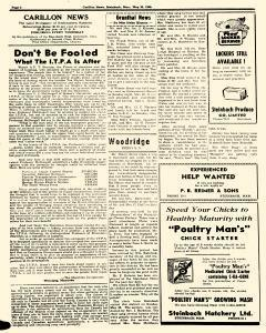 Steinbach Carillon News, May 30, 1946, Page 2