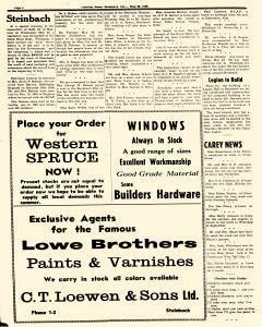 Steinbach Carillon News, May 30, 1946, Page 4