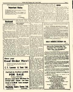 Steinbach Carillon News, May 30, 1946, Page 3